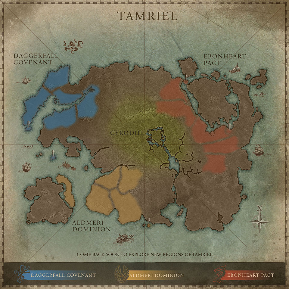 Interactive Map of Tamriel | An Elder Scrolls Online Community and Forum