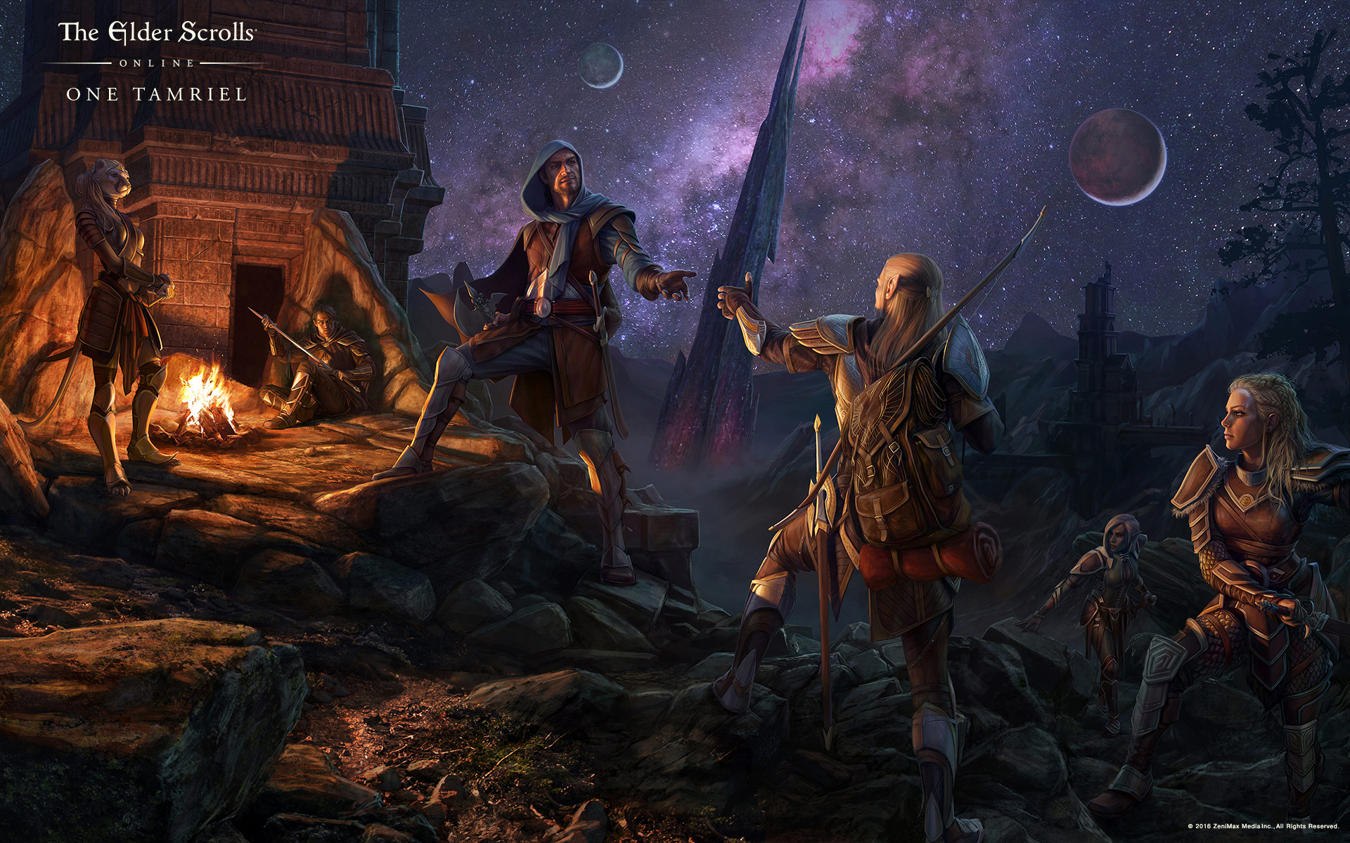 The Elder Scrolls Wallpaper: Update 12 Brings Players Together In One Tamriel For PC