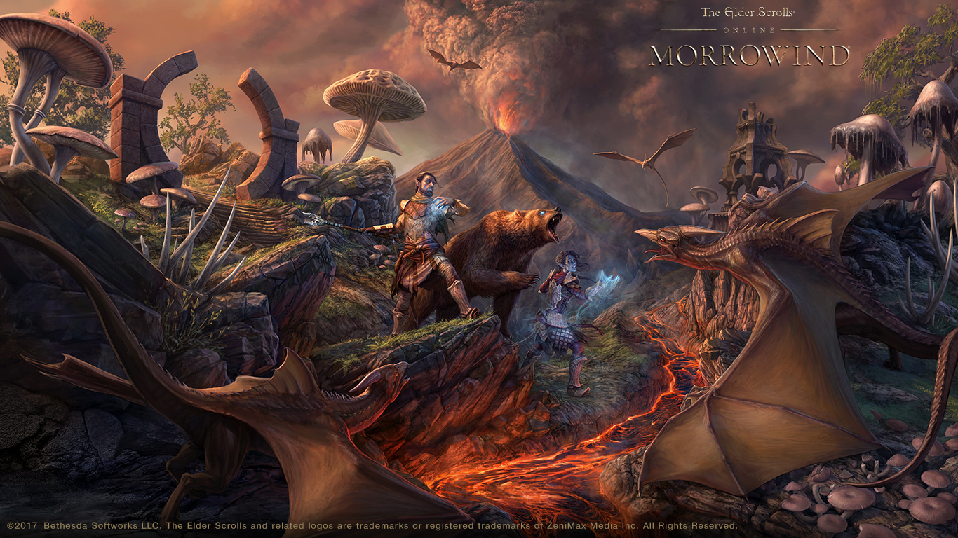 The Elder Scrolls Wallpaper: ESO: Morrowind Concept Artist Q&A And Wallpaper