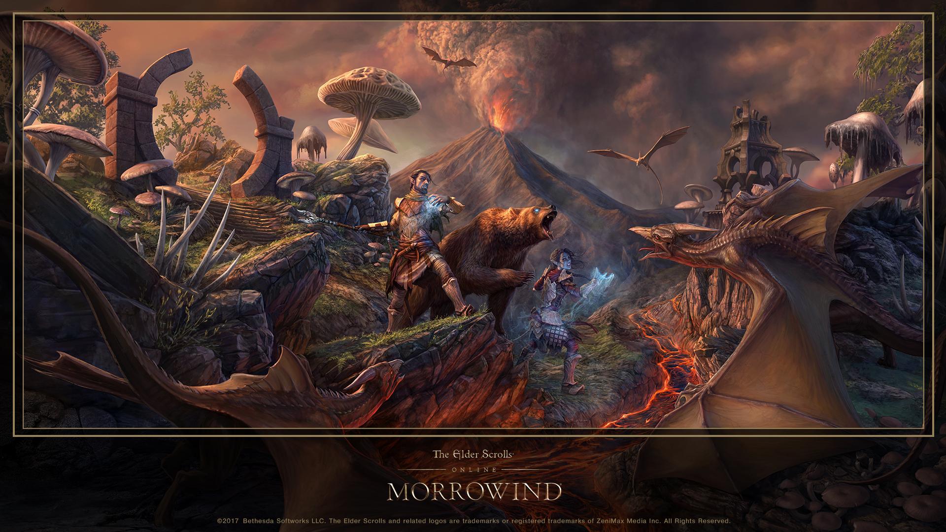 ESO: Morrowind Concept Artist Q&A And Wallpaper
