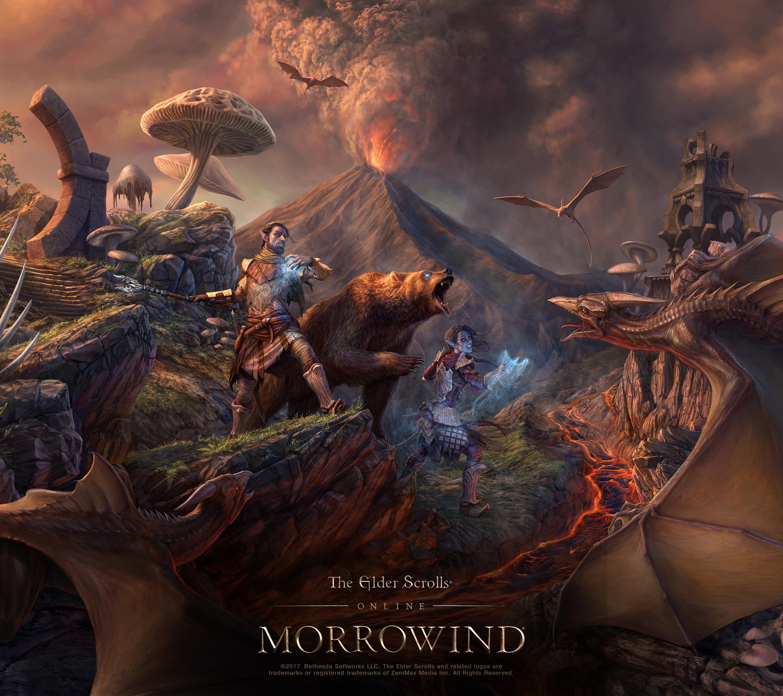 Online Wallpaper: ESO: Morrowind Concept Artist Q&A And Wallpaper