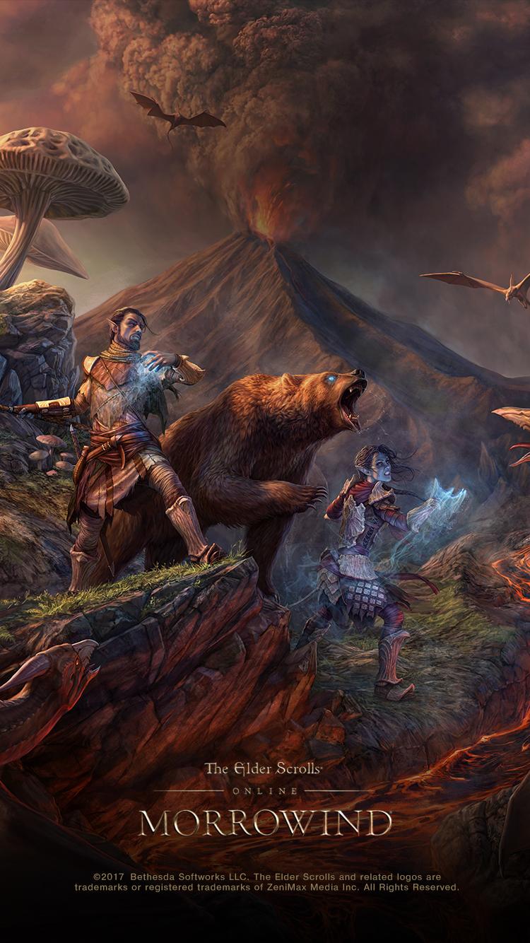 Eso Morrowind Concept Artist Q Amp A And Wallpaper Elder